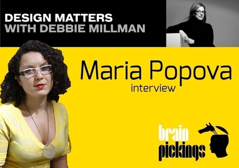 Creating a Framework for What Matters and Why: Maria Popova Explains What It Means To Be a Curator | Entrepreneurship, Innovation | Scoop.it