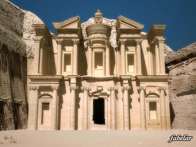 Petra El Deir, Jordanie | 3D Library | Scoop.it