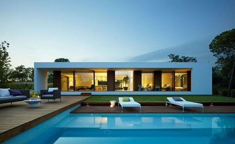 Villa Indigo by Josep Camps and Olga Felip. | Arquitectura: Unifamiliars | Scoop.it