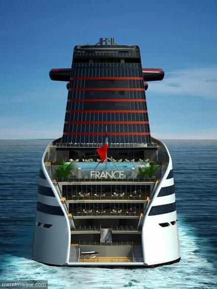 Nouveau paquebot France, ou le gimmick naval | Architecture pour tous | Scoop.it