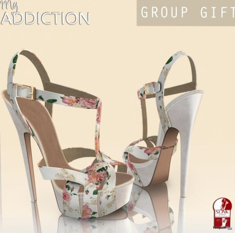 Gala Spring Shoes for Slink Feet Group Gift by My Addiction   Teleport Hub - Second Life Freebies   Second Life Freebies   Scoop.it