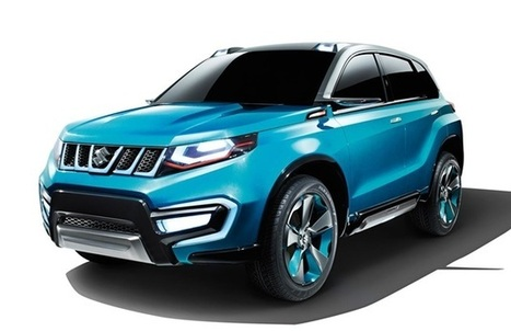 Auto Expo 2014- No Maruti XA Alpha instead iV-4 SUV concept will be there | Cars in India 2014 | Scoop.it