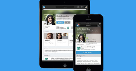 LinkedIn Redesigns Mobile Profiles to Put Relationships Into Context | Social Media Bites! | Scoop.it