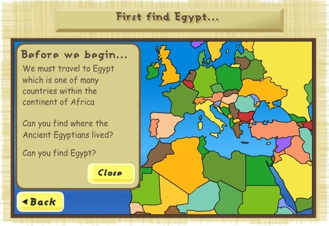 Ancient Egypt - The Children's University of Manchester | CLIL and ICT Resource Pool | Scoop.it