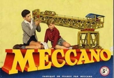 Découvrez l'histoire des jouets Meccano: prenez un inventeur anglais et ajoutez des enfants fascinés par les grues ! | Jouets enfant | Scoop.it