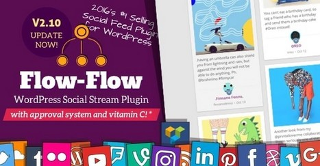 Flow-Flow: A Creative Social Stream WordPress Plugin | WordPress Plugins | Scoop.it