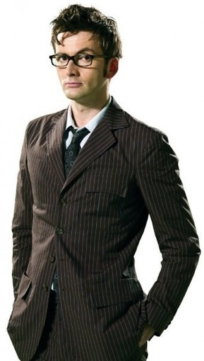 Dr. Who Brown Pinstripe Suit | Special Celebrity Costume Deals | Scoop.it