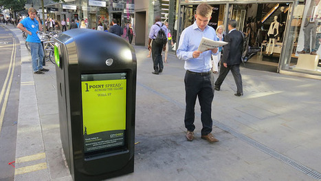 Watched from a waste bin: UK pulls plug on 'spy' trash cans | Marketing and Creative Services | Scoop.it