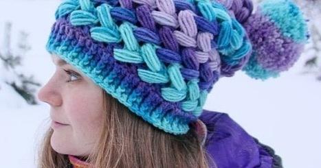 Patrón #1523: Gorro a Crochet | CTejidas [Crochet y Dos Agujas] | Tejidos | Scoop.it