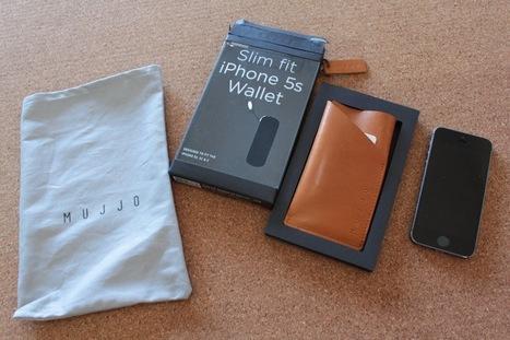 Mujjo Slim Fit iPhone 5 & 5S Wallet, funda de piel (Review)   Reviews iPhone iPad accesorios   Scoop.it