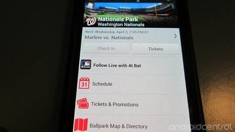 Must-have apps for the 2013 baseball season | Android Central | business apps | Scoop.it