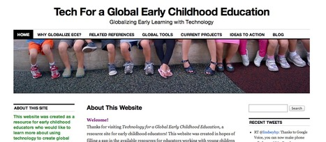 Tech For a Global Early Childhood Education | Globalizing Early Learning with Technology | Early Years Education | Scoop.it