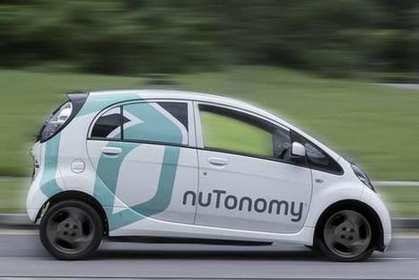World's First Self-Driving Taxis Hit the Road in Singapore | Hydrogen powered cars | Scoop.it