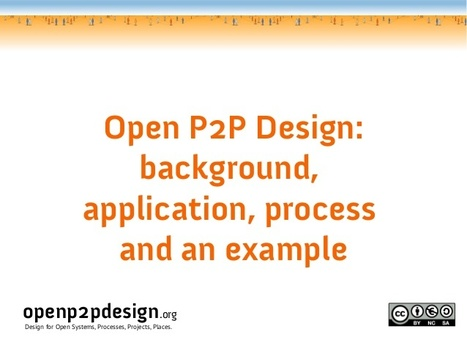 Open P2P Design | Coopération, libre et innovation sociale ouverte | Scoop.it