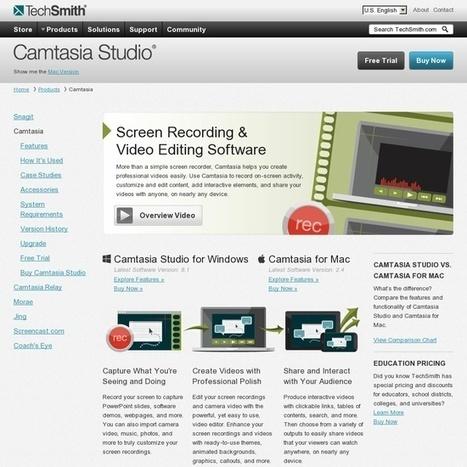 Best ScreenCasting Tools 2013 | Lernvideo | Scoop.it