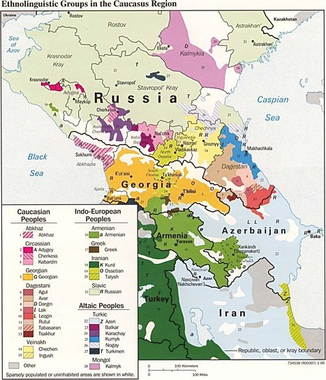 The Geography of Chechnya | Geography Education | Scoop.it