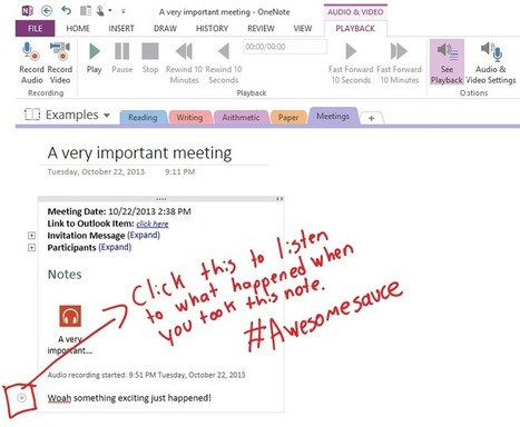 Top 10 things you didn't know about OneNote | Office Blogs | Using OneNote in the Classroom | Scoop.it