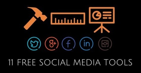 11 Free Social Media Marketing Tools You Should Try in 2015 | Alessio Carciofi :  consulenza e [info] formazione sul turismo | Scoop.it