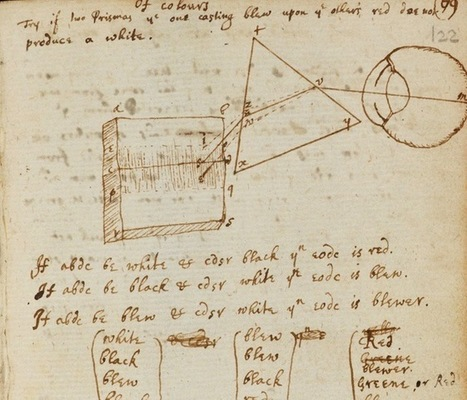 Isaac Newton's Personal Notebooks Go Digital | The Enlightenment | Scoop.it