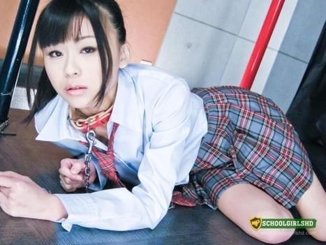 Schoolgirl Chika Ishihara Is Lying On A Chain And Gets Dick As Dinner | schoolgirlshdblog | Scoop.it