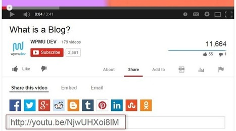 Embed Flickr, YouTube, Tweets, Vimeo and more using a URL – Edublogs Help and Support | 21st Century School Libraries | Scoop.it