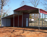 Red Wine pole barn project - Arklatex Pole Barns | Metal and Wood Carport Buildings Texas | Scoop.it