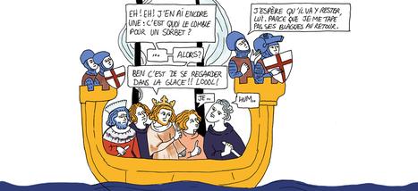 La fabuleuse histoire de la crème glacée en bande dessinée - Slate.fr | aimer la langue | Scoop.it