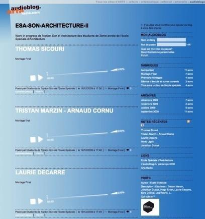 Son et architecture II - Ecole Spéciale d'Architecture | DESARTSONNANTS - CRÉATION SONORE ET ENVIRONNEMENT - ENVIRONMENTAL SOUND ART - PAYSAGES ET ECOLOGIE SONORE | Scoop.it