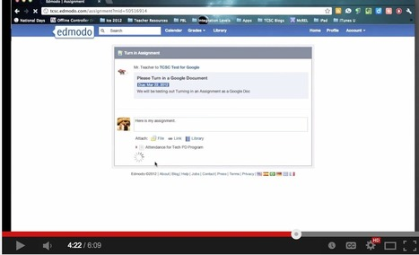This is How to Use Google Drive with Edmodo to Share Docs and Assignments with Students ~ Educational Technology and Mobile Learning | Connected Learning | Scoop.it