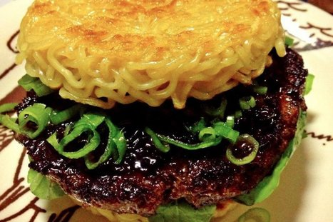 "Le ""ramen burger"", la nouvelle folie de New York 