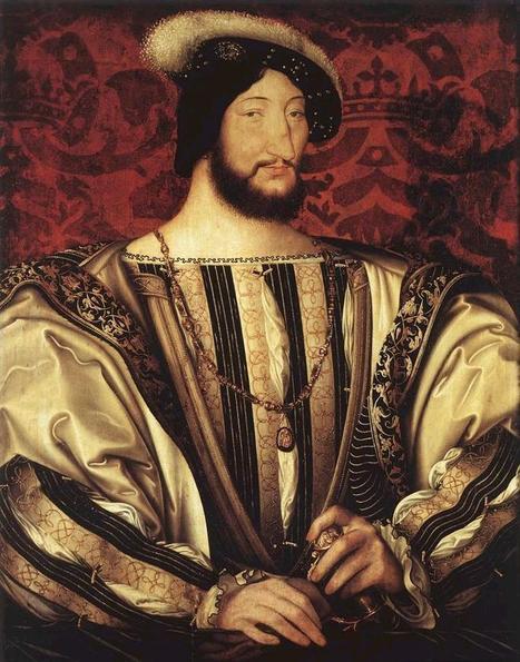 #025 ❘ Jean CLOUET (1480 - 1541) ❘ Portrait de François 1er, roi de France (1497-1547) ❘ vers 1527-1530 ❘ huile sur toile, 96 × 74 cm, Louvre. | # HISTOIRE DES ARTS - UN JOUR, UNE OEUVRE - 2013 | Scoop.it