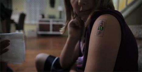 Tech Tats : Chaotic Moon invente le tatouage connecté du futur | E-santé, M-Santé, web 2.0, web 3.0, serious games, télémédecine, quantified self | Scoop.it