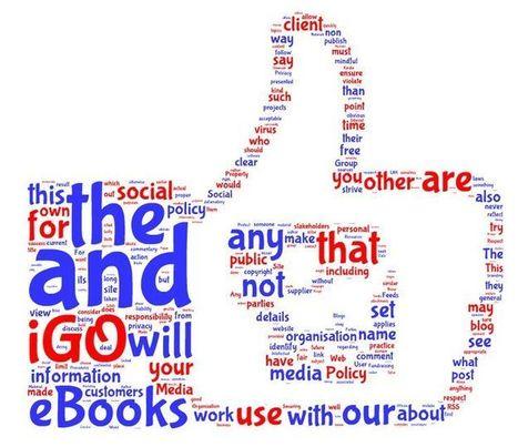 iGO eBooks™ Social Media Policy } Like   Social Media   Pinterest   social musings   Scoop.it