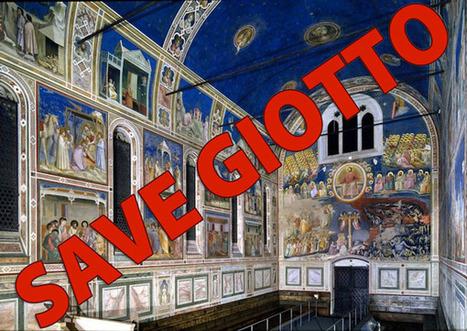 Un appello per salvare gli affreschi di Giotto a Padova | Capire l'arte | Scoop.it