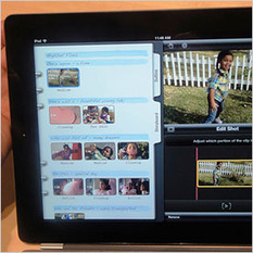 Hands on With the New iMovie for iPad | Making Meaning Together | Scoop.it