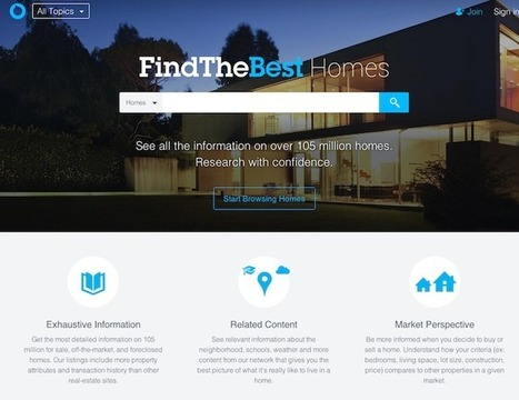 Comparison Site FindTheBest Adds Real Estate Data To Help Home ... | REALTOR Association Management | Scoop.it