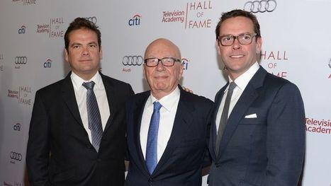 Rupert Murdoch organise sa succession | Revue des médias | Scoop.it