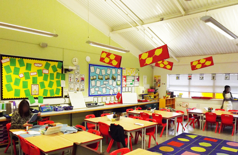Classroom design can boost primary pupils' progress by 16% | digital creativity in education | Scoop.it