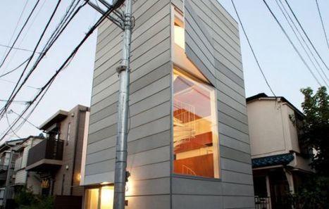 La plus petite maison de Tokyo | Sud34.com L'info du sud | Funny News | Scoop.it