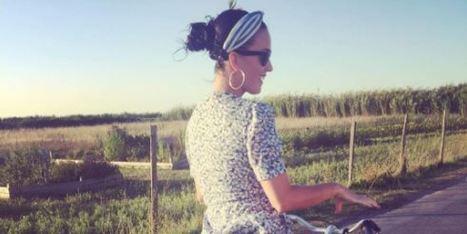 À l'île de Ré, même Katy Perry fait de la bicyclette (mais à sa manière)   Revue de web de Mon Cher Vélo   Scoop.it