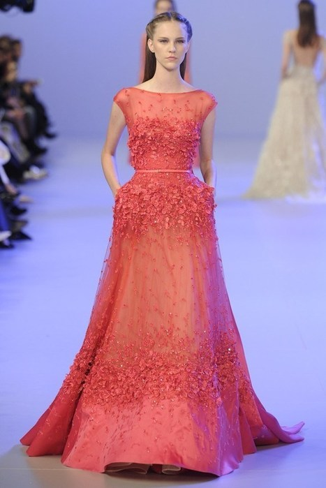 Elie Saab Couture Dresses | Party Wear Collection 2014 - ..:: Fashion Wd Passion ::.. | Fashion | Scoop.it