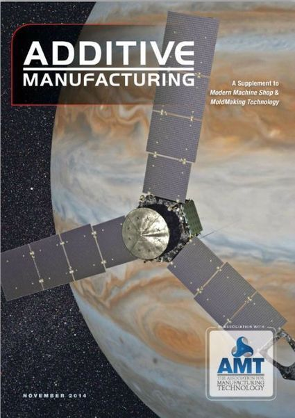 In Case You Missed It: Additive Manufacturing's November 2014 Digital Edition : Modern Machine Shop | Makerspaces in Libraries | Scoop.it