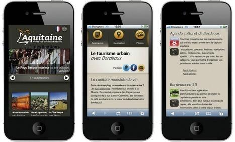 Un site mobile pour découvrir les richesses de la région Aquitaine (Aqui.fr) | Usages numériques et mediation | Scoop.it