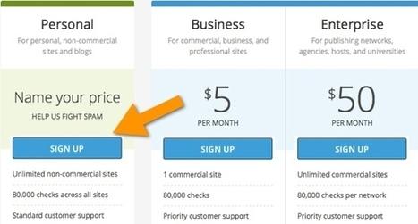 How to Create Free Akismet API Key | Learn WordPress | Scoop.it
