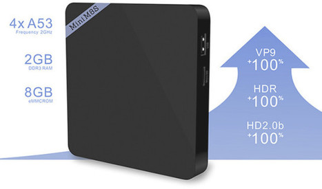 Mini M8S II Amlogic S905X Android TV Box with 2GB RAM Sells for $37 | Embedded Systems News | Scoop.it