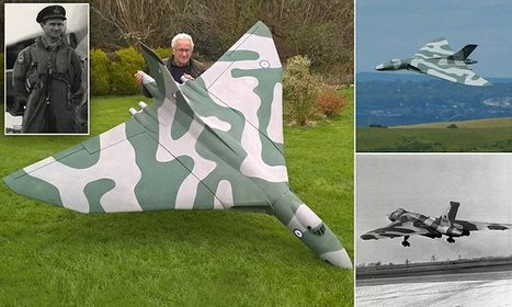 Retired RAF pilot builds scale model of Vulcan bomber | Military Miniatures H.Q. | Scoop.it