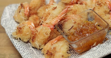 Coconut Shrimp That'd Make Bubba Gump Proud | ♨ Family & Food ♨ | Scoop.it