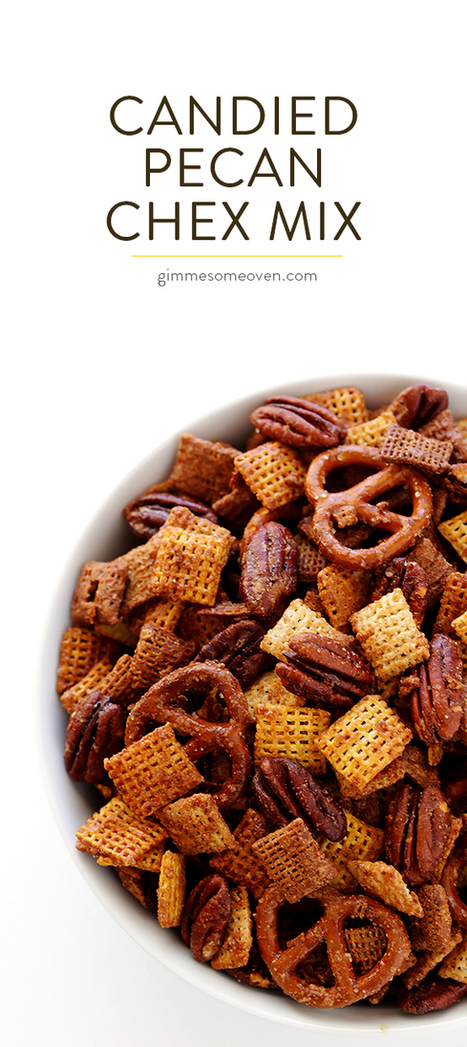 Candied Pecan Chex Mix | ♨ Family & Food ♨ | Scoop.it