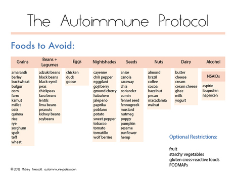 Paleo Autoimmune Protocol Print-Out Guides   Autoimmune Paleo   Health and healing   Scoop.it