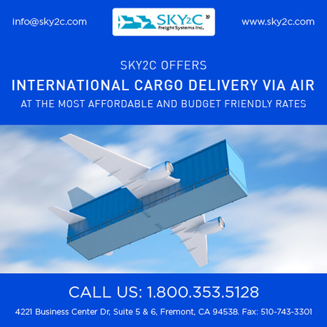 Commercial Cargo With International Air Freight & Cost   Commercial Cargo Services Fremont   Scoop.it